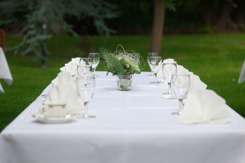 Hochzeit Schloss Friedrichsfelde Buffet