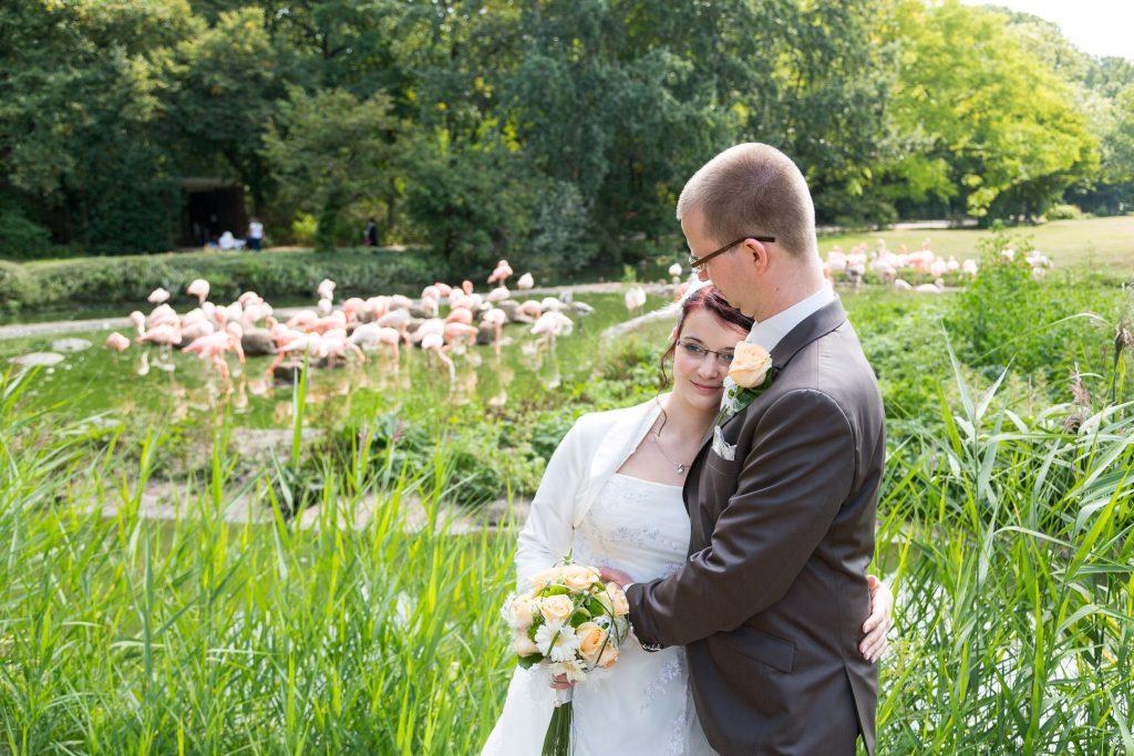 schloss Friedrichsfelde Hochzeitsfotos Tierpark